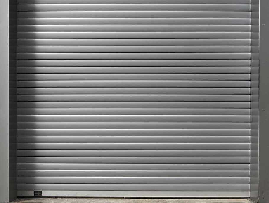 roll up door garage door aluminium profile garage - Gem tingene sikkert væk med et sikringsskab